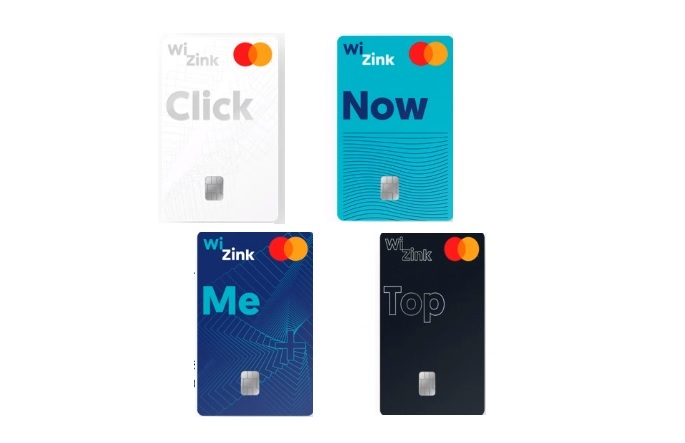 Archivo - Nuevas tarjetas de crédito de WiZink.