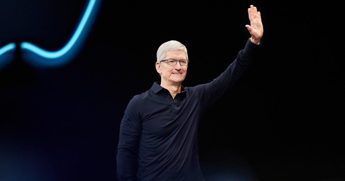 El CEO de Apple, Tim Cook, en la WWDC 2019