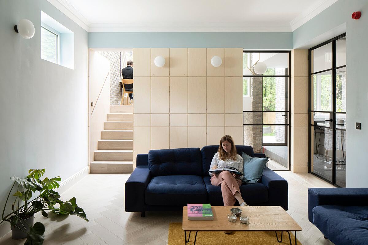 Es un proyecto del estudio de arquitectura Selencky Parsons