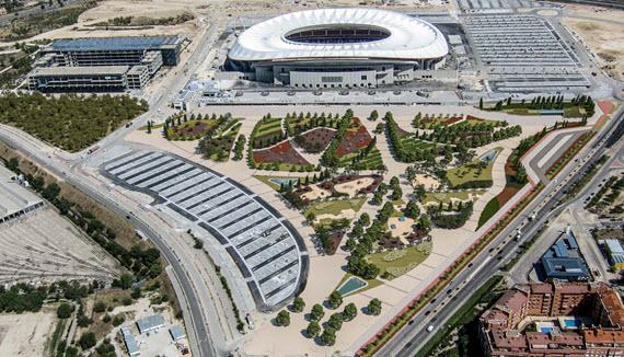 Aledaños del estadio Wanda Metropolitano donde se ubicará la Nueva Centralidad del Este / Creative commons