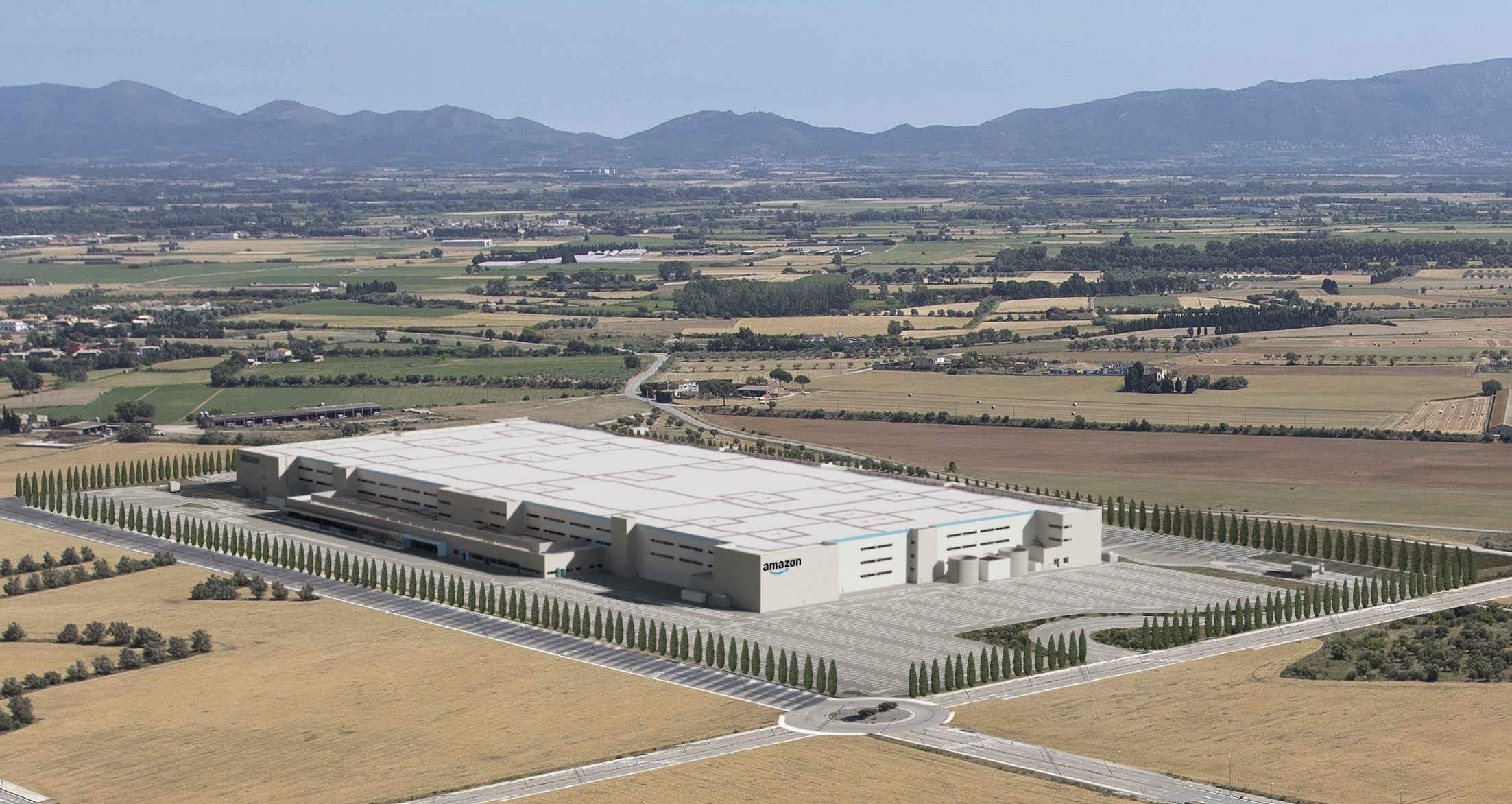 El centro logístico que Amazon abrirá en Girona en 2022