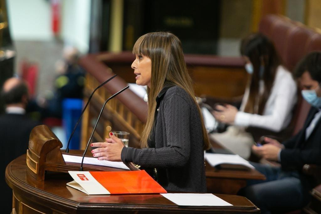 La diputada socialista en el Congreso por Cádiz, Eva Bravo