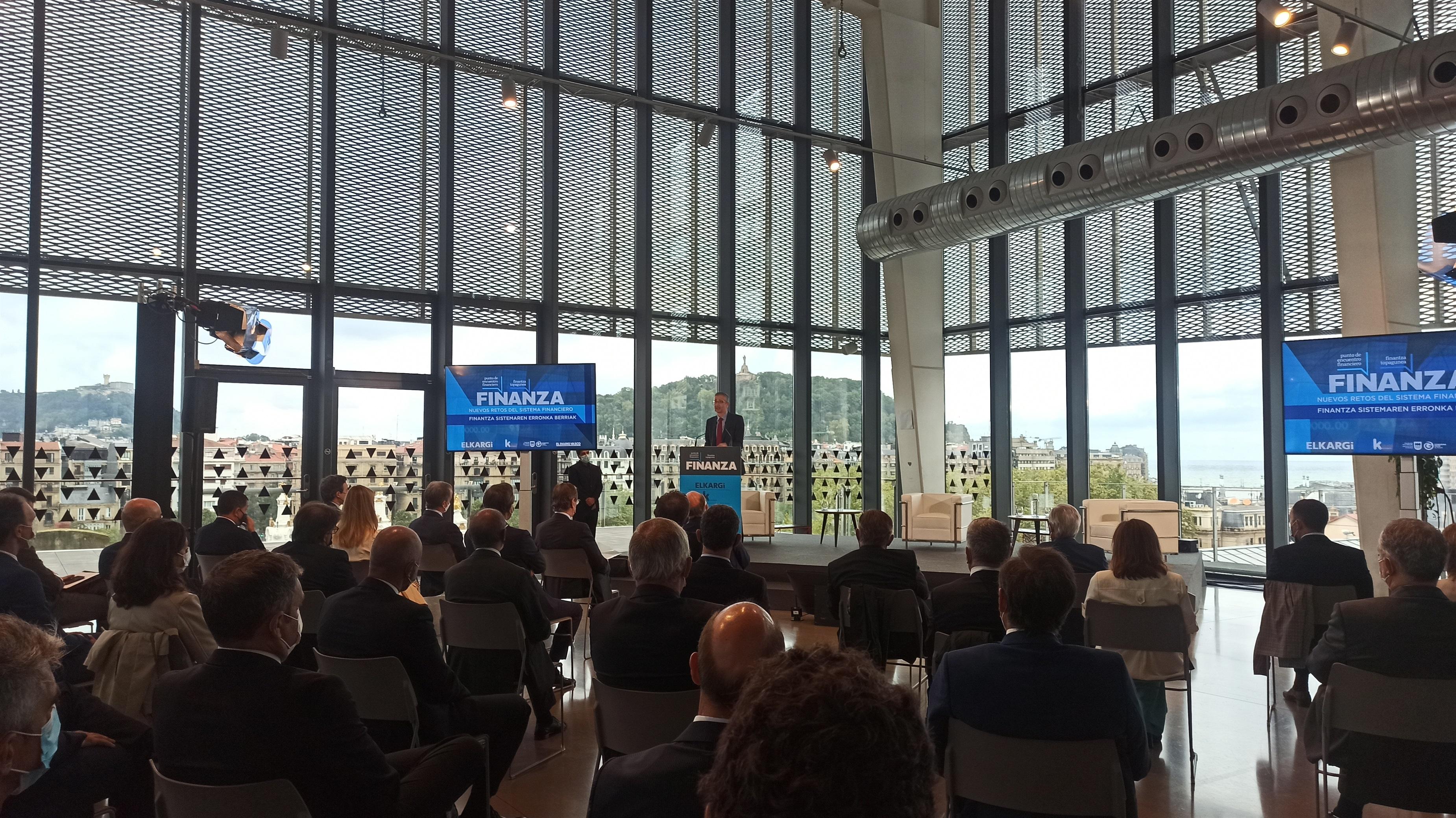 El Gobernador del Banco de España, Pablo Hernández de Cos / EUROPA PRESS