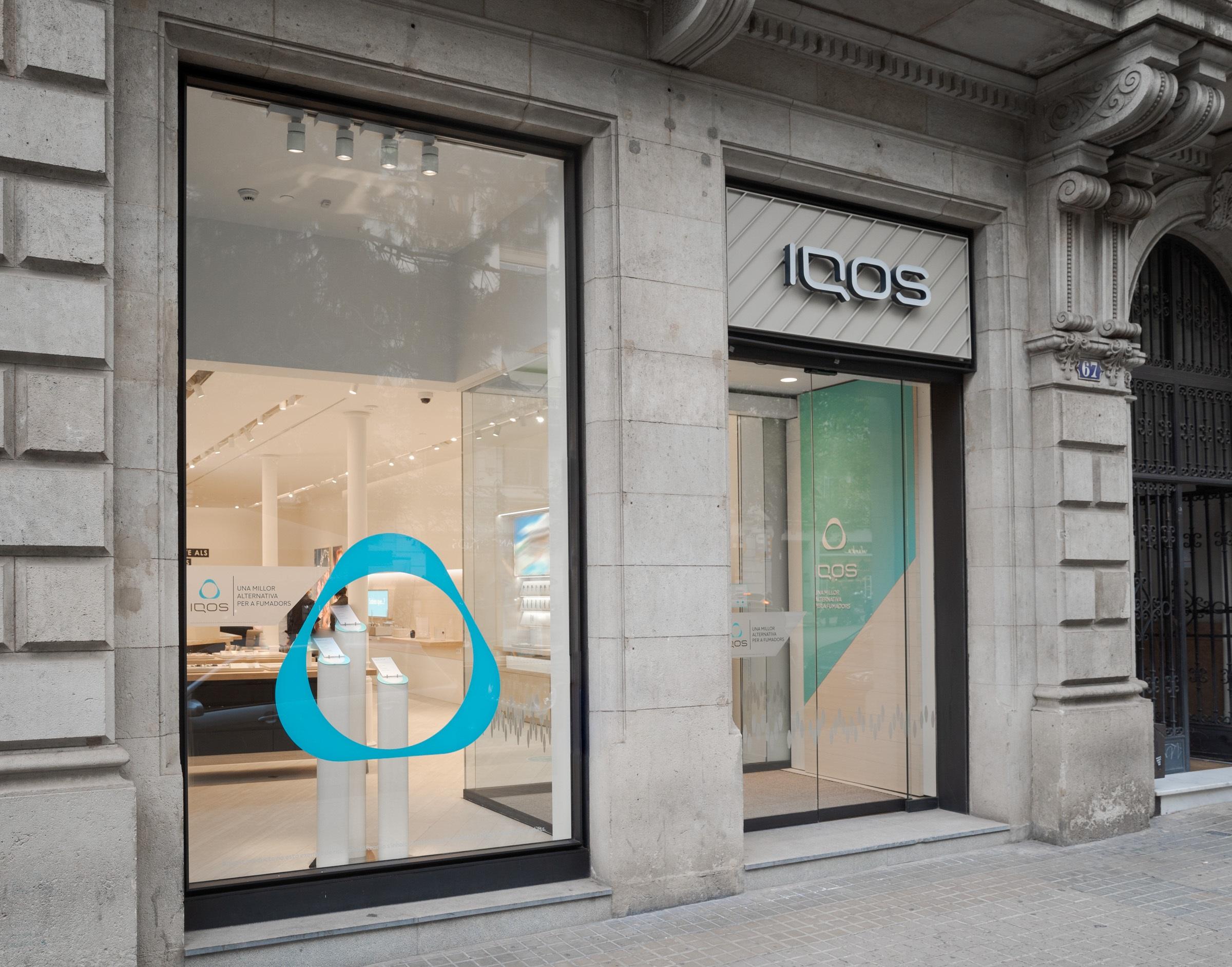 Iqos abre su primera tienda en Barcelona