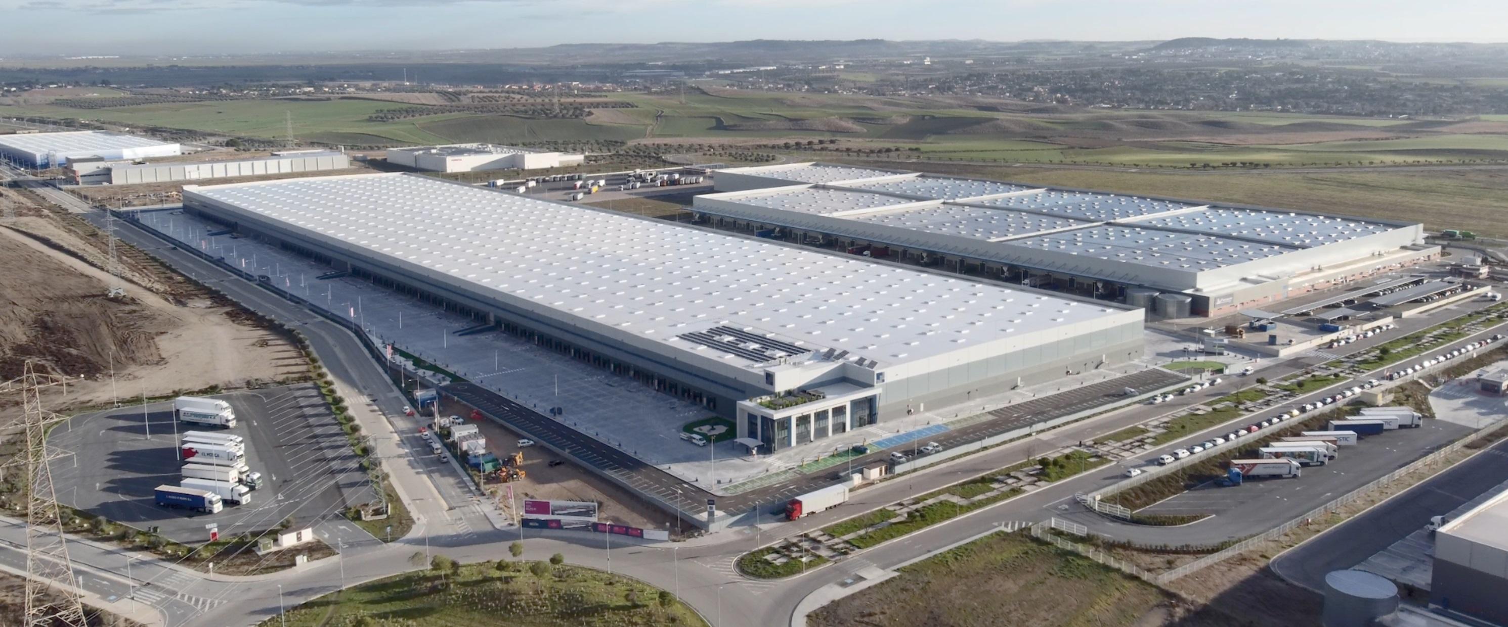 Almacén logístico de Mountpark en Illescas (Toledo)