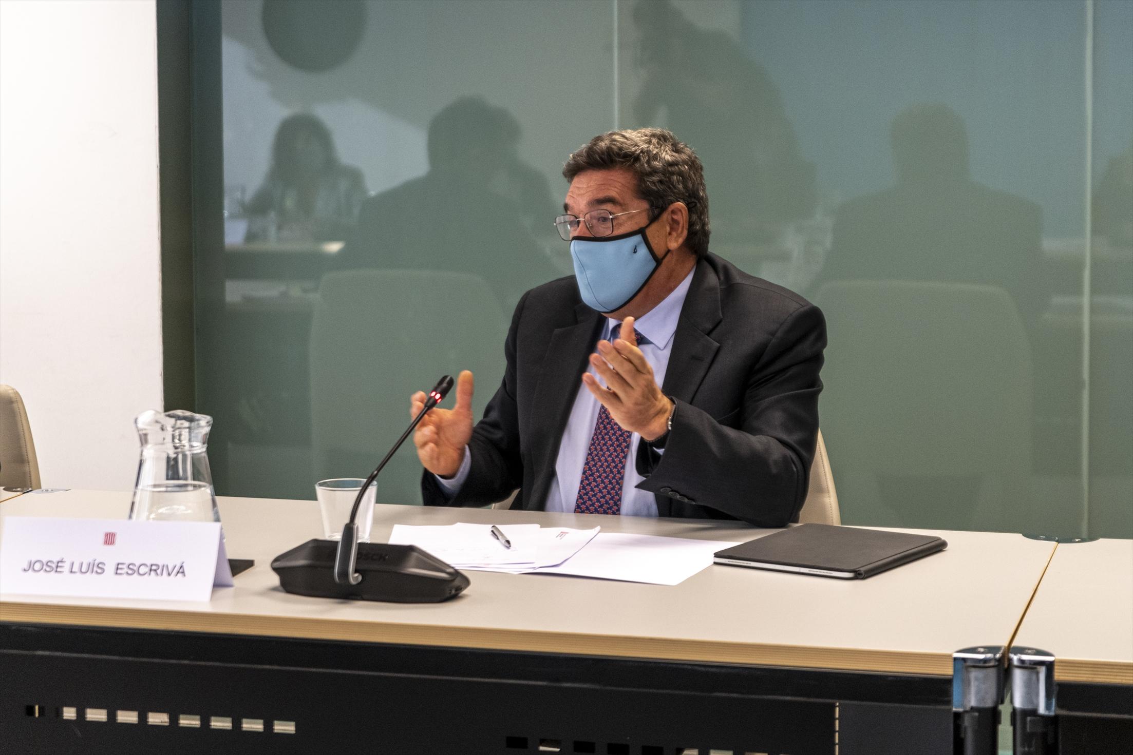El ministro de Inclusión, Seguridad Social y Migraciones, José Luis Escrivá / Lorena Sopêna - Europa Press