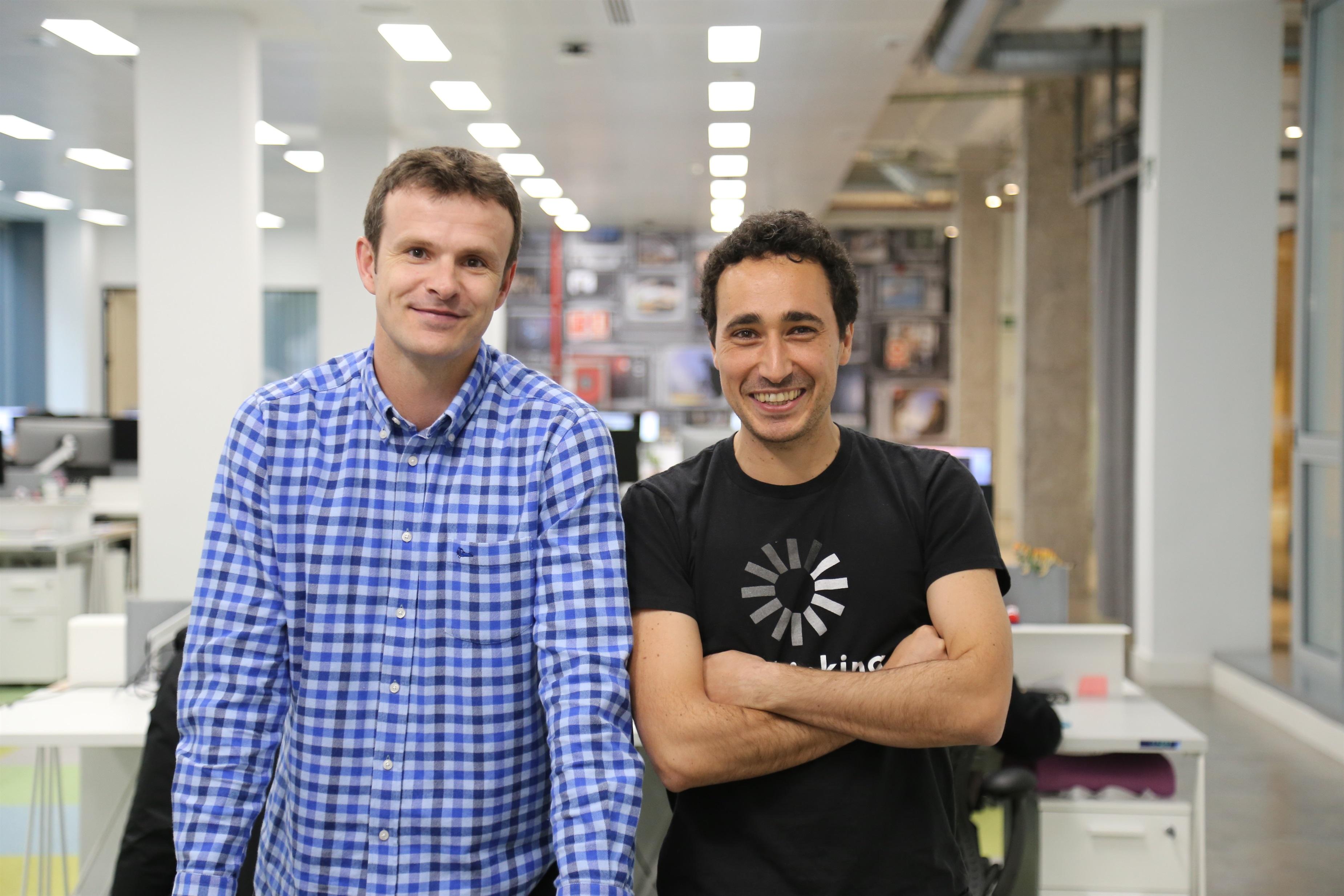 Jon Uriarte y Ander Michelena, fundadores de la gestora de capital riesgo española All Iron / ALL IRON