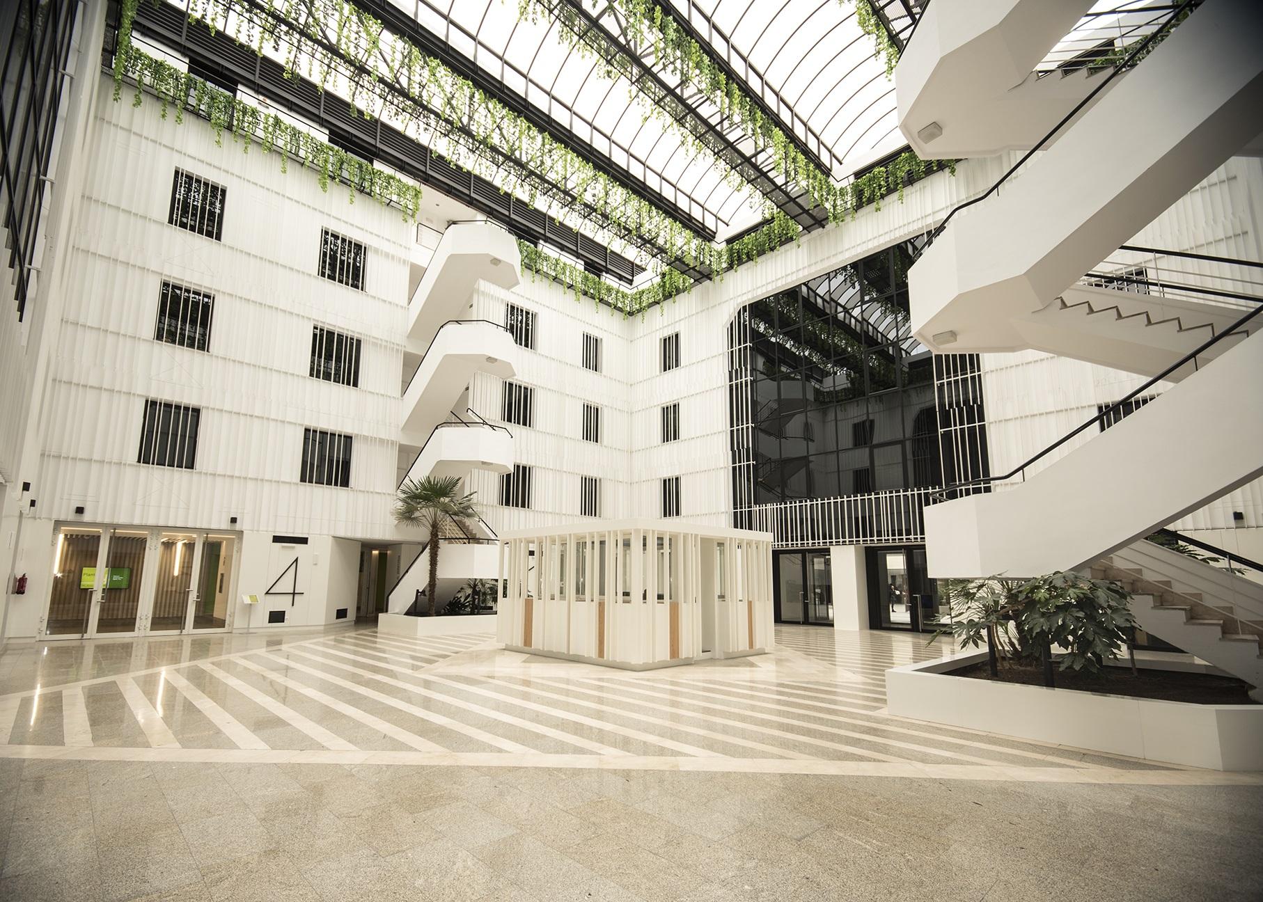 Edificio de oficinas propiedad de Iberdrola Inmobiliaria