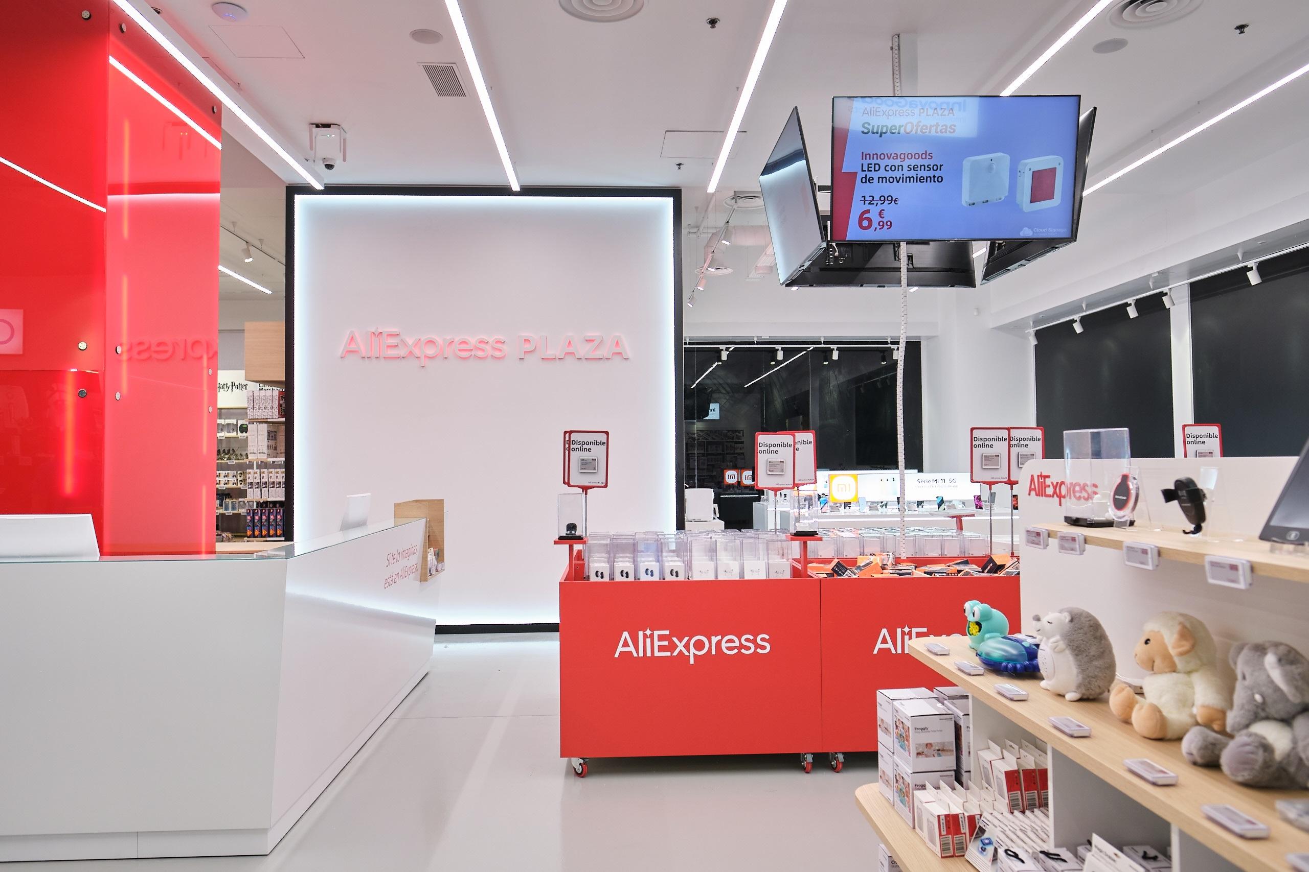 Tienda de AliExpress en La Maquinista
