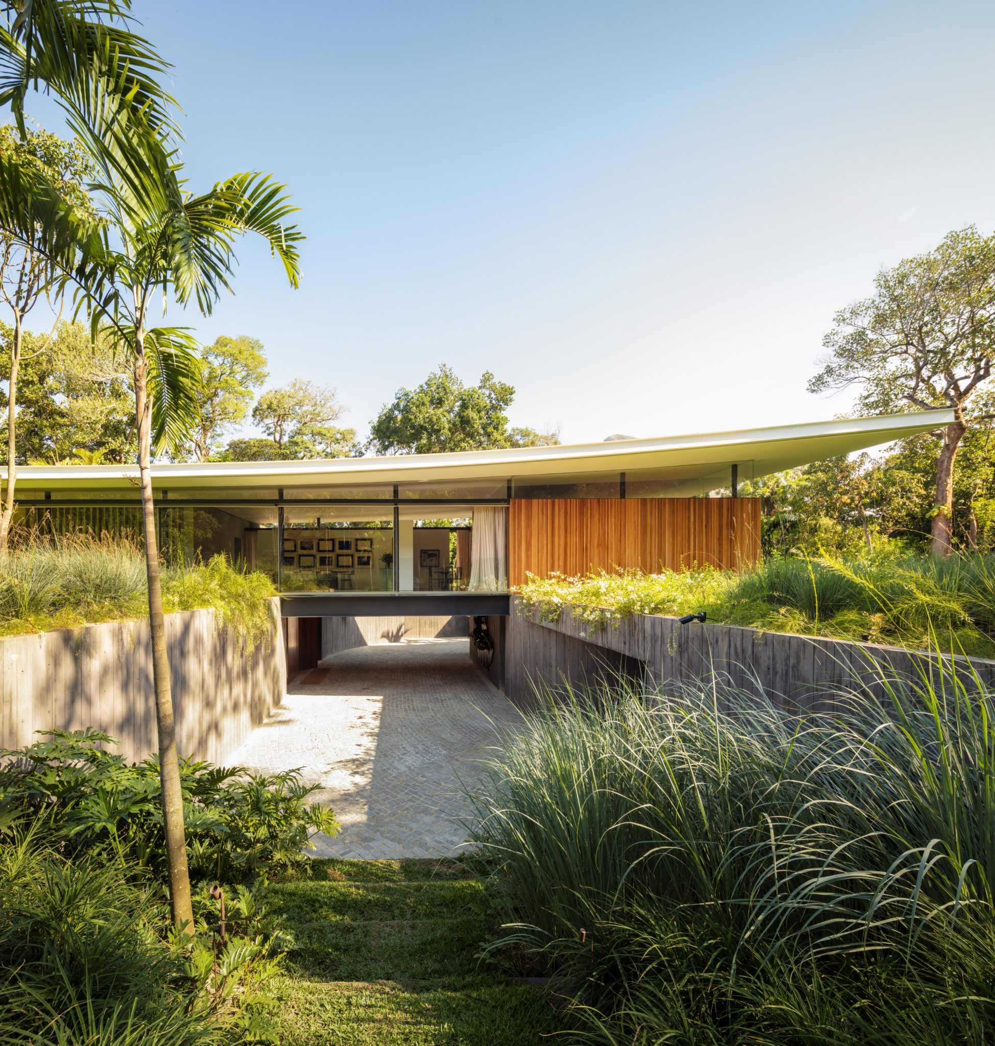 Busca la armonía entre el paisaje y la arquitectura