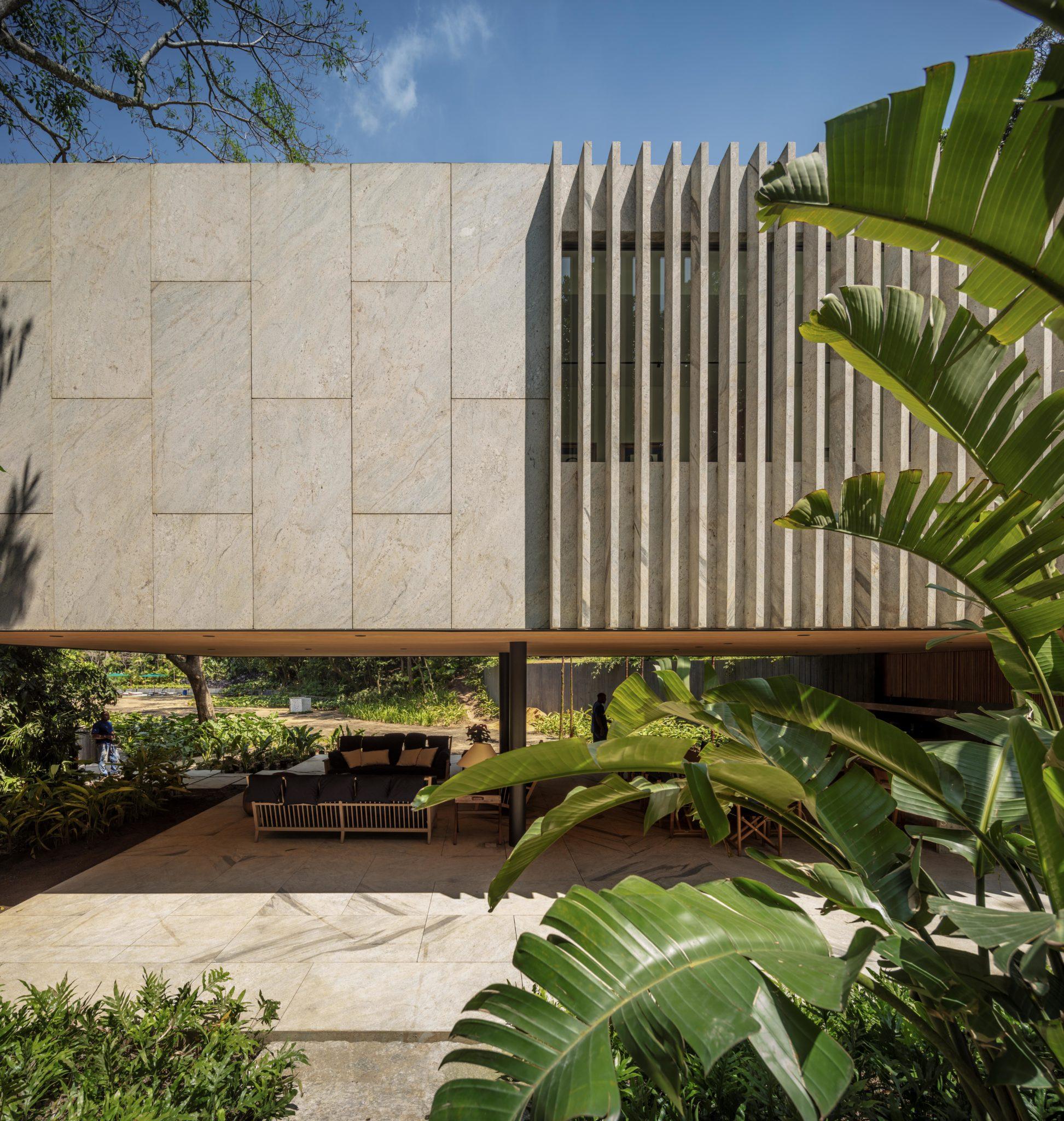 Un proyecto de Bernardes Arquitetura, con sede en Río de Janeiro