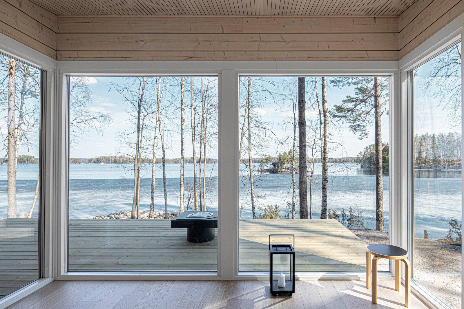 Grandes ventanales para disfrutar del exterior