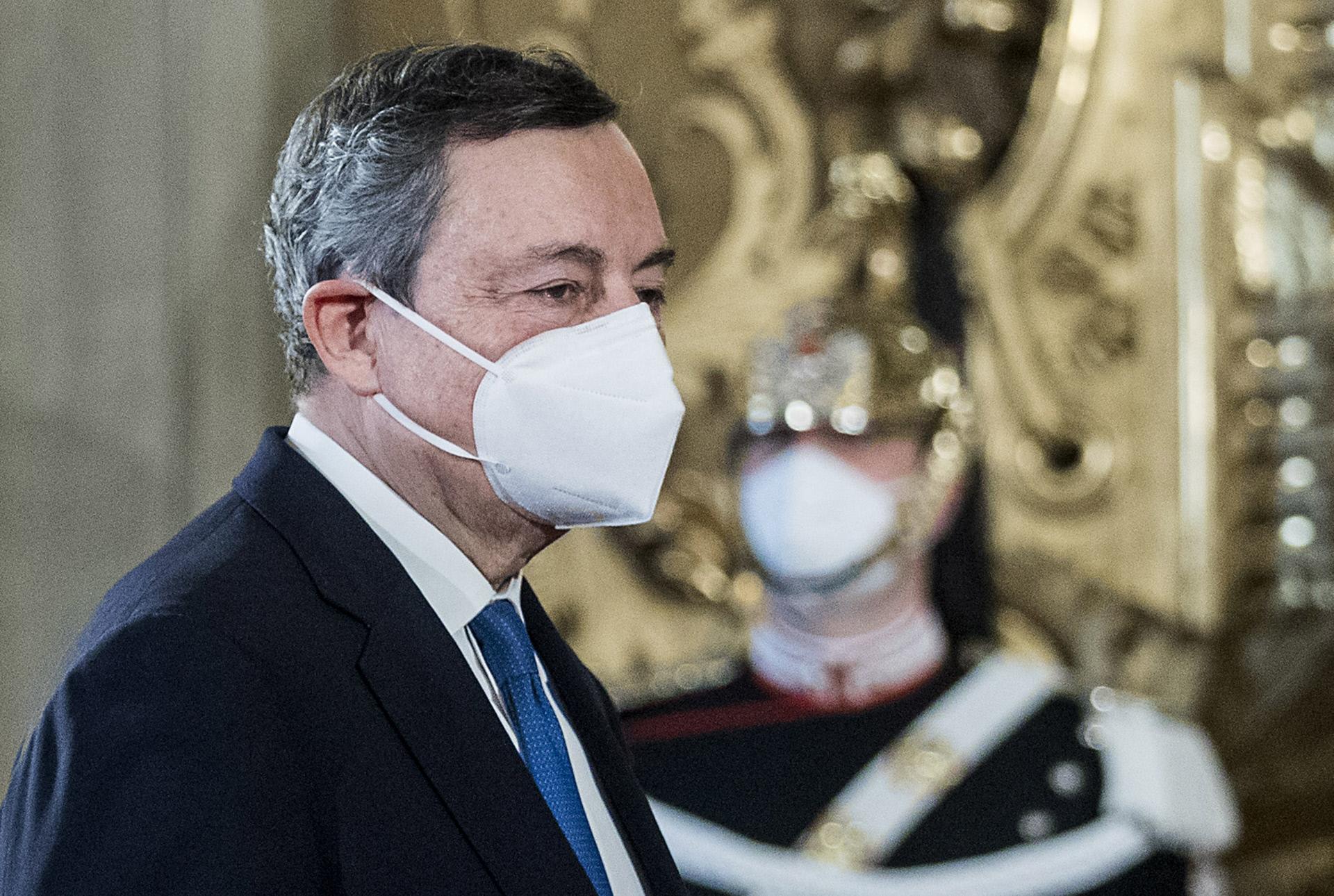 Mario Draghi, presidente del Consejo de Ministros de Italia / Gtres