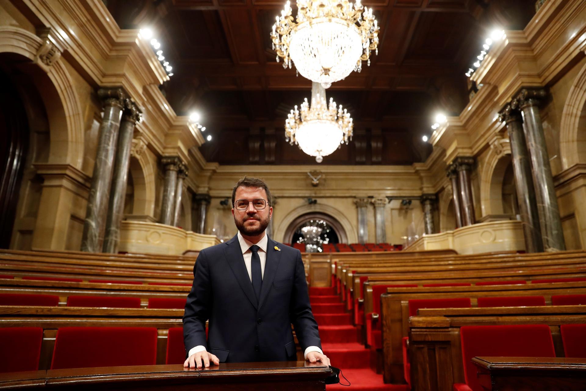 Pere Aragonés, presidente de la Generalidad de Cataluña / Gtres