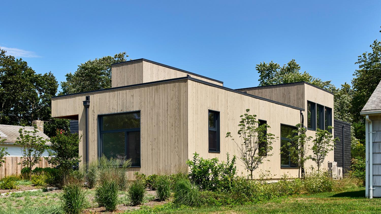 Es una casa sostenible
