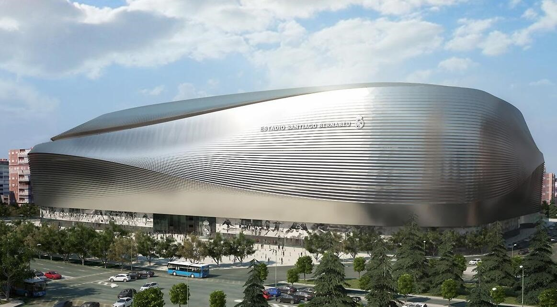 Recreación del nuevo estadio Santiago Bernabéu
