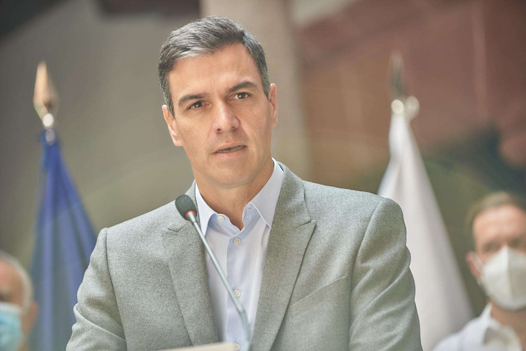 El presidente del Gobierno, Pedro Sánchez / Toni Cuadrado - Europa Press
