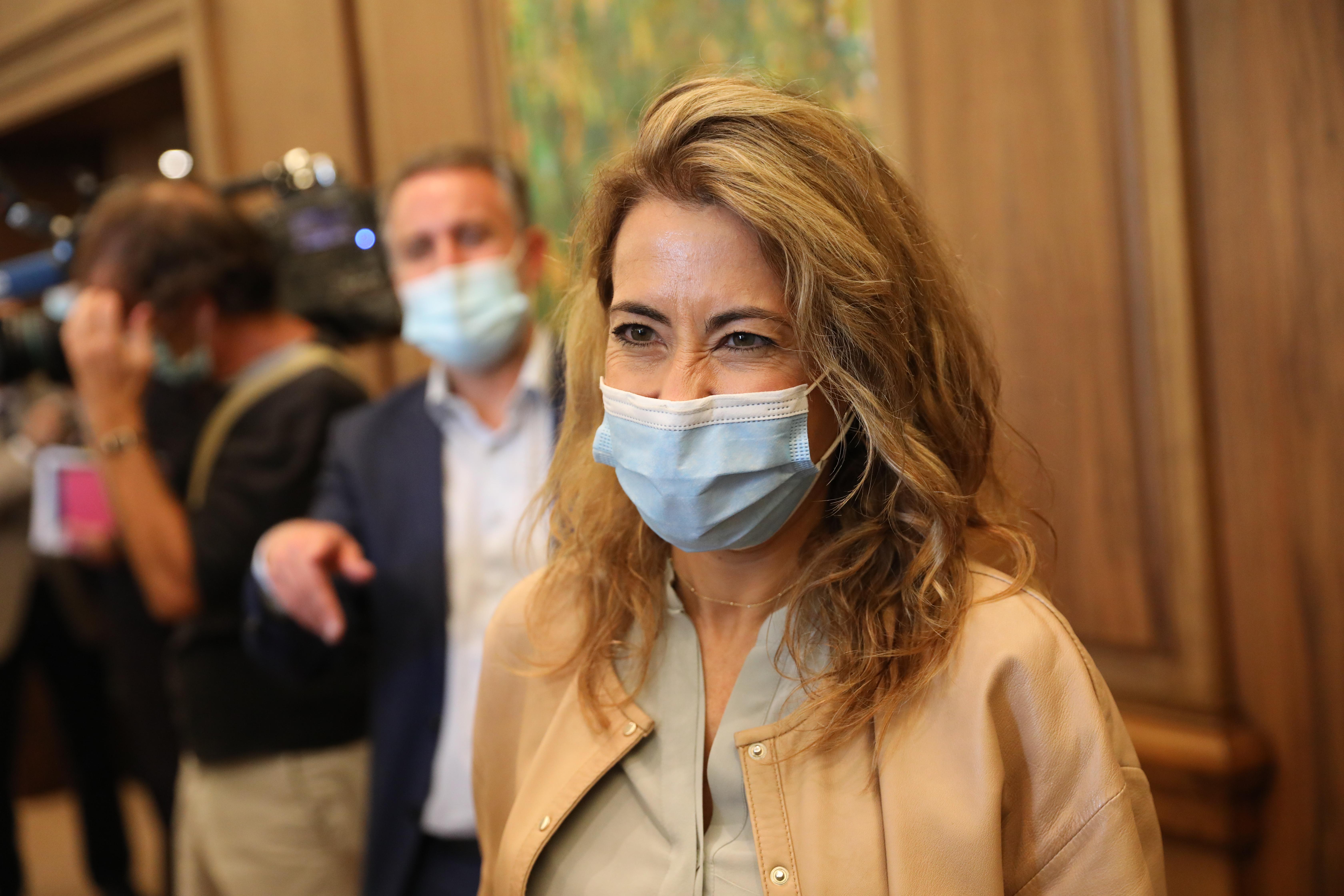 La ministra de Transportes, Movilidad y Agenda Urbana, Raquel Sánchez