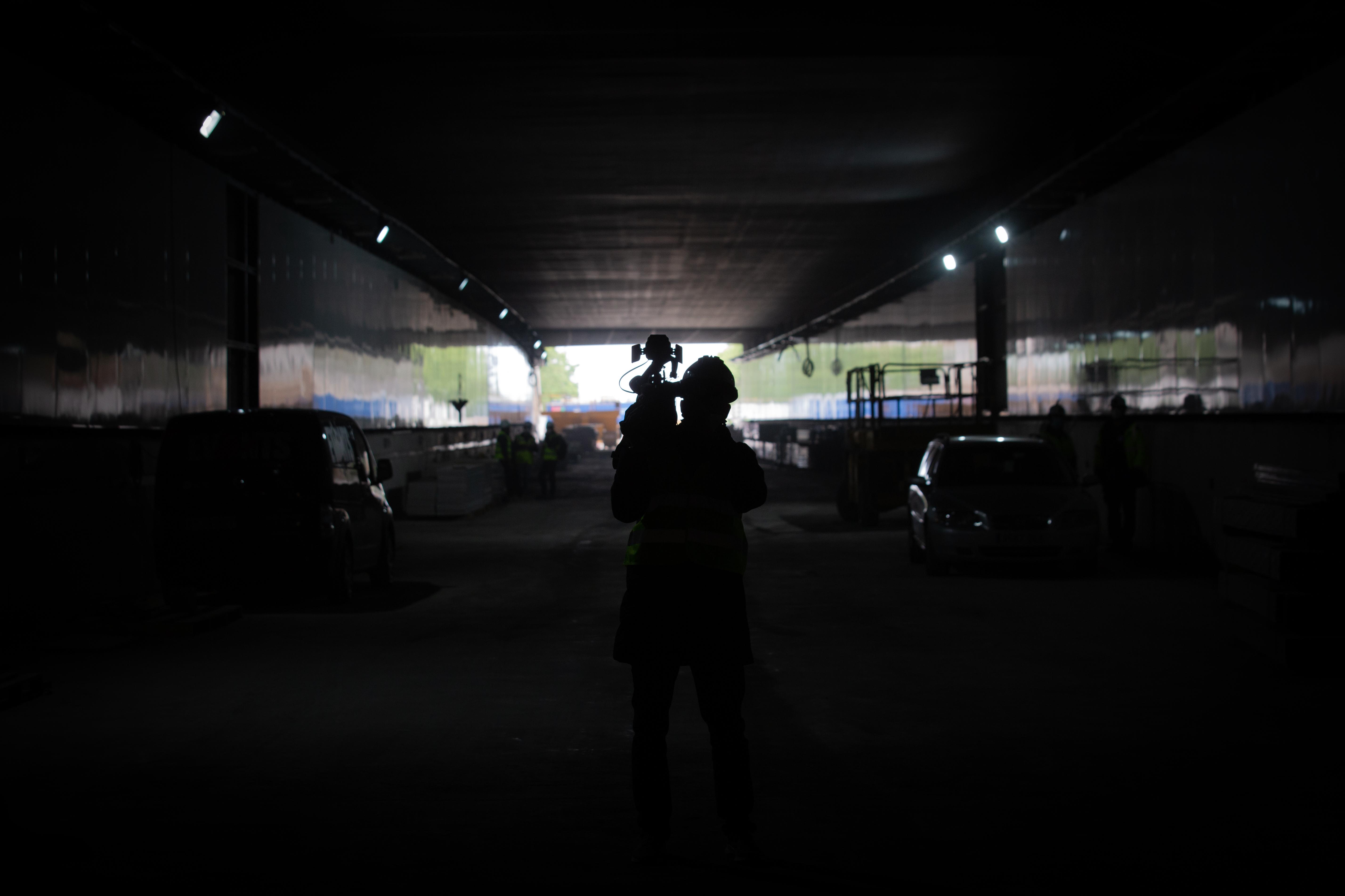 Obras es un túnel de Barcelona / David Zorrakino/Europa Press