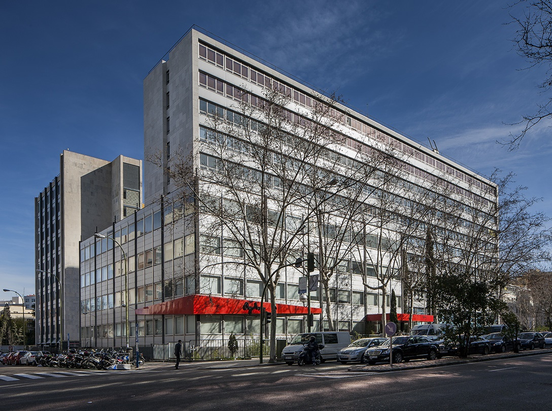 Edificio de oficinas de Madrid
