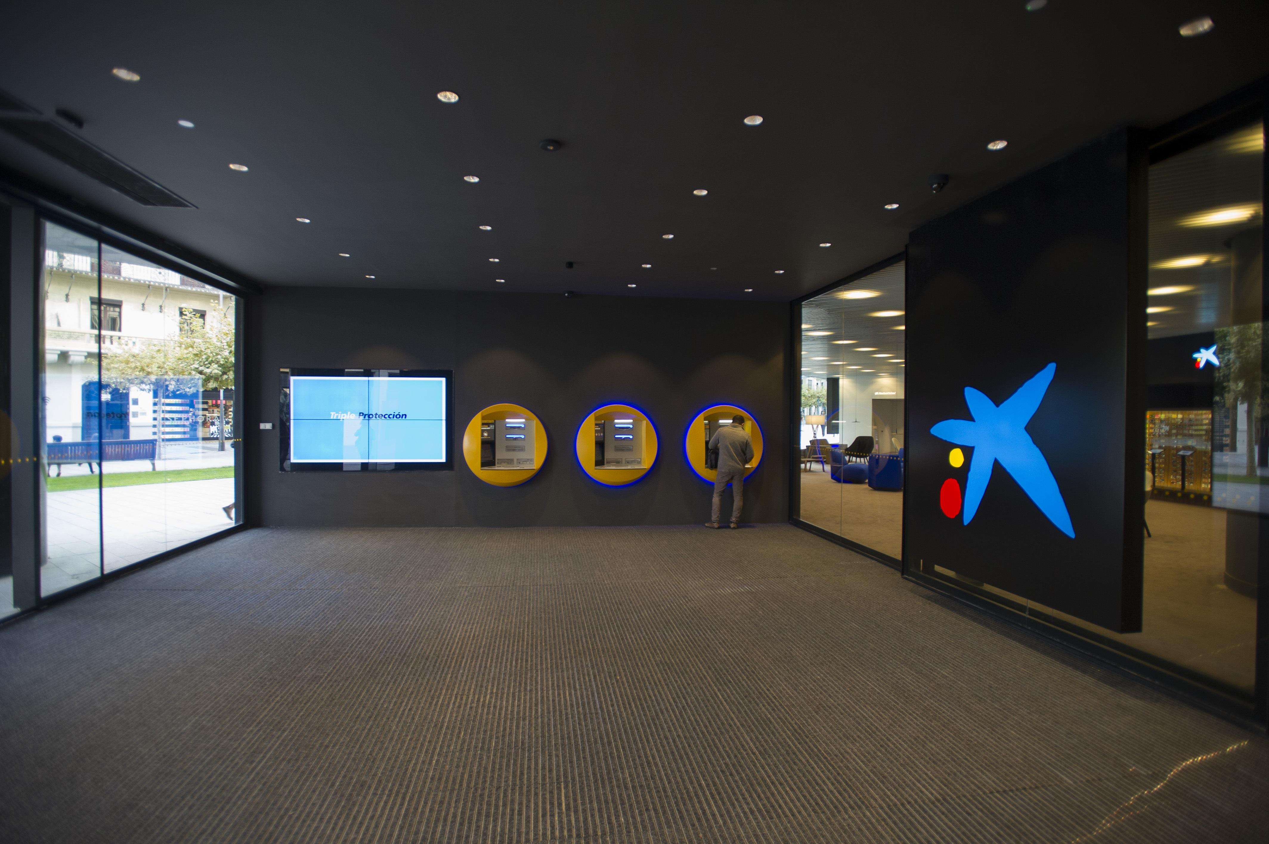 Oficina de CaixaBank en Pamplona