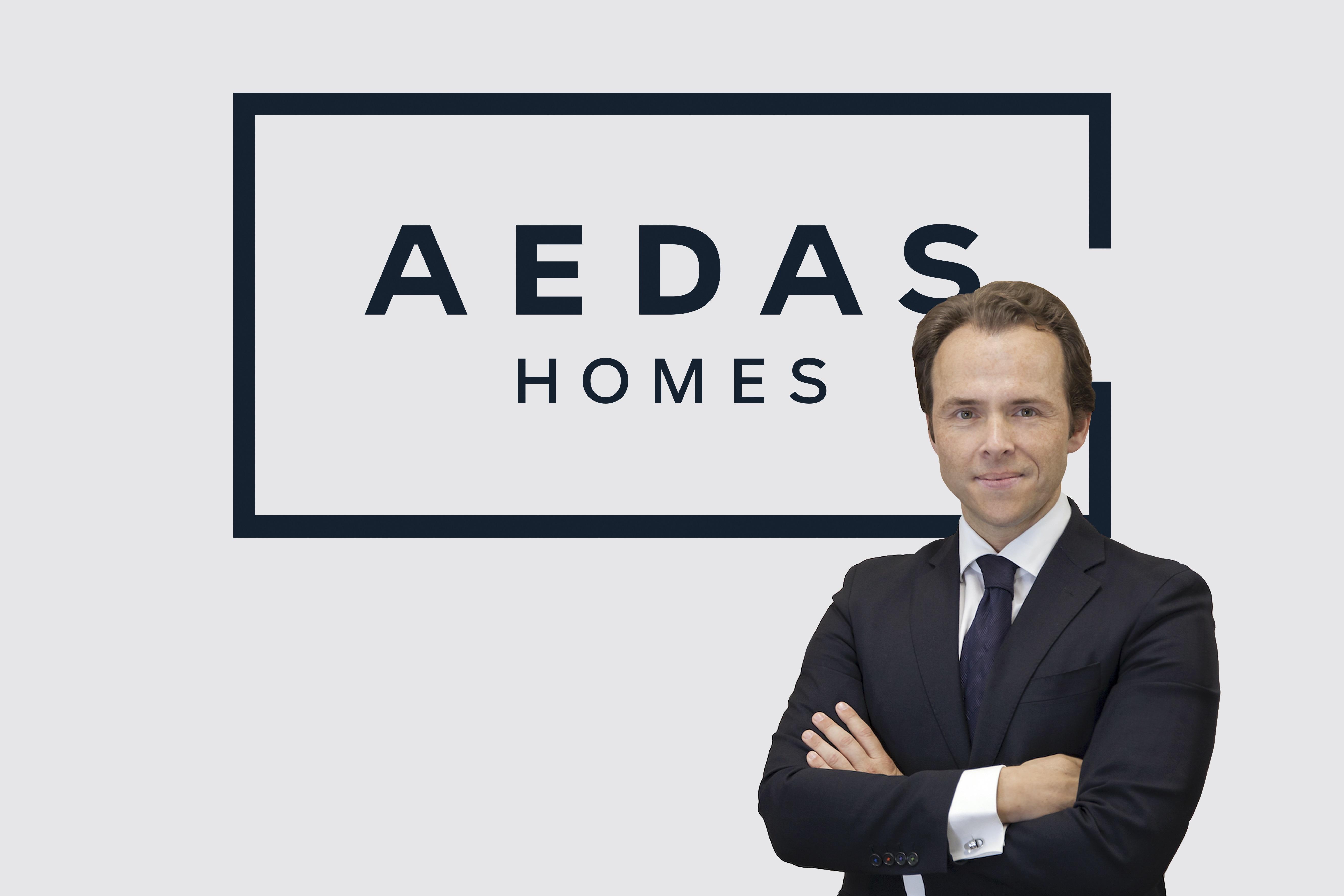 Archivo - El director general de Estrategia, Inversiones y Desarrollos Alternativos de Aedas Homes, Sergio Gálvez.
