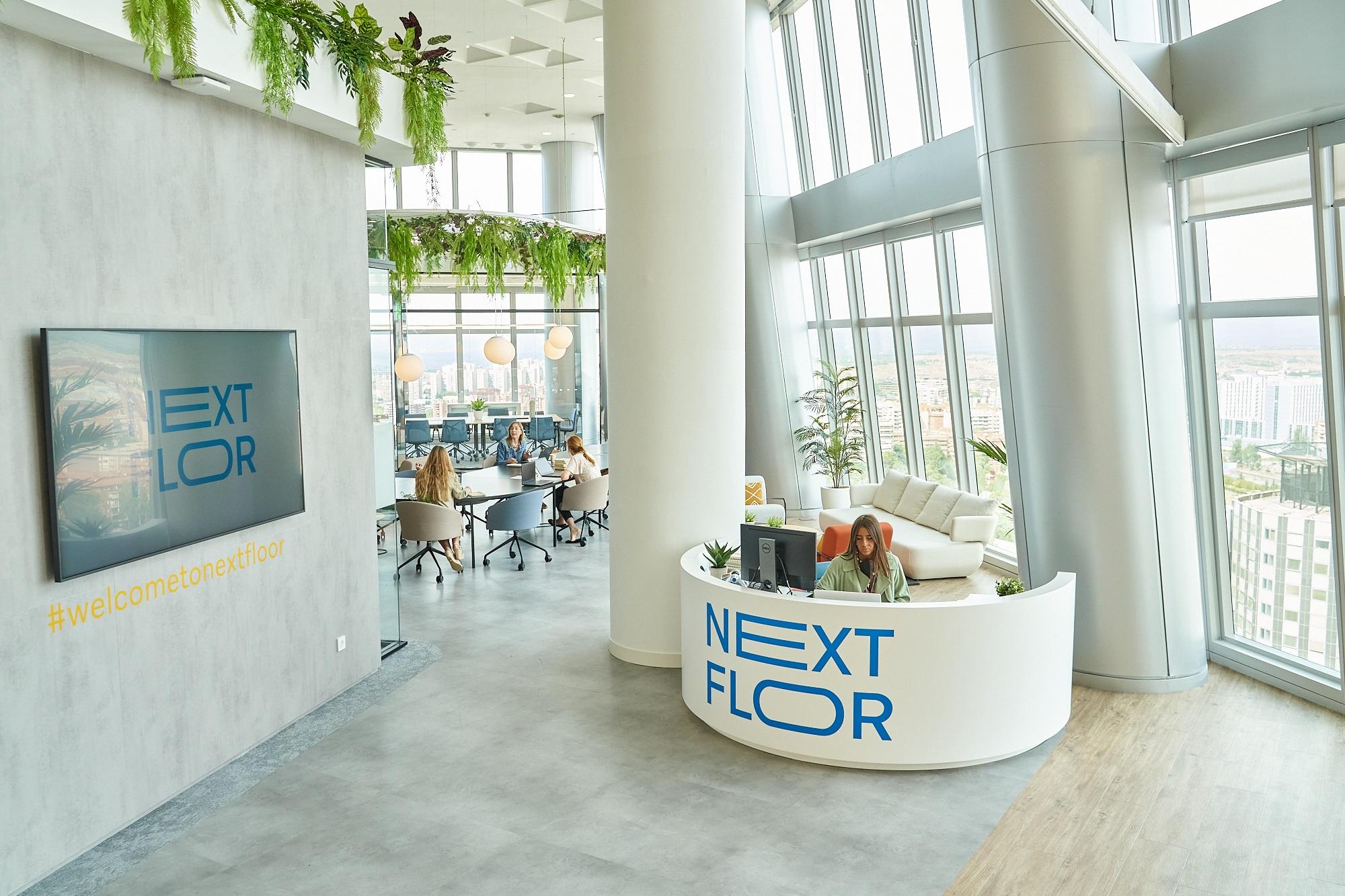 Next Floor, el espacio 'coworking' de Emperador Properties gestionado por Savills
