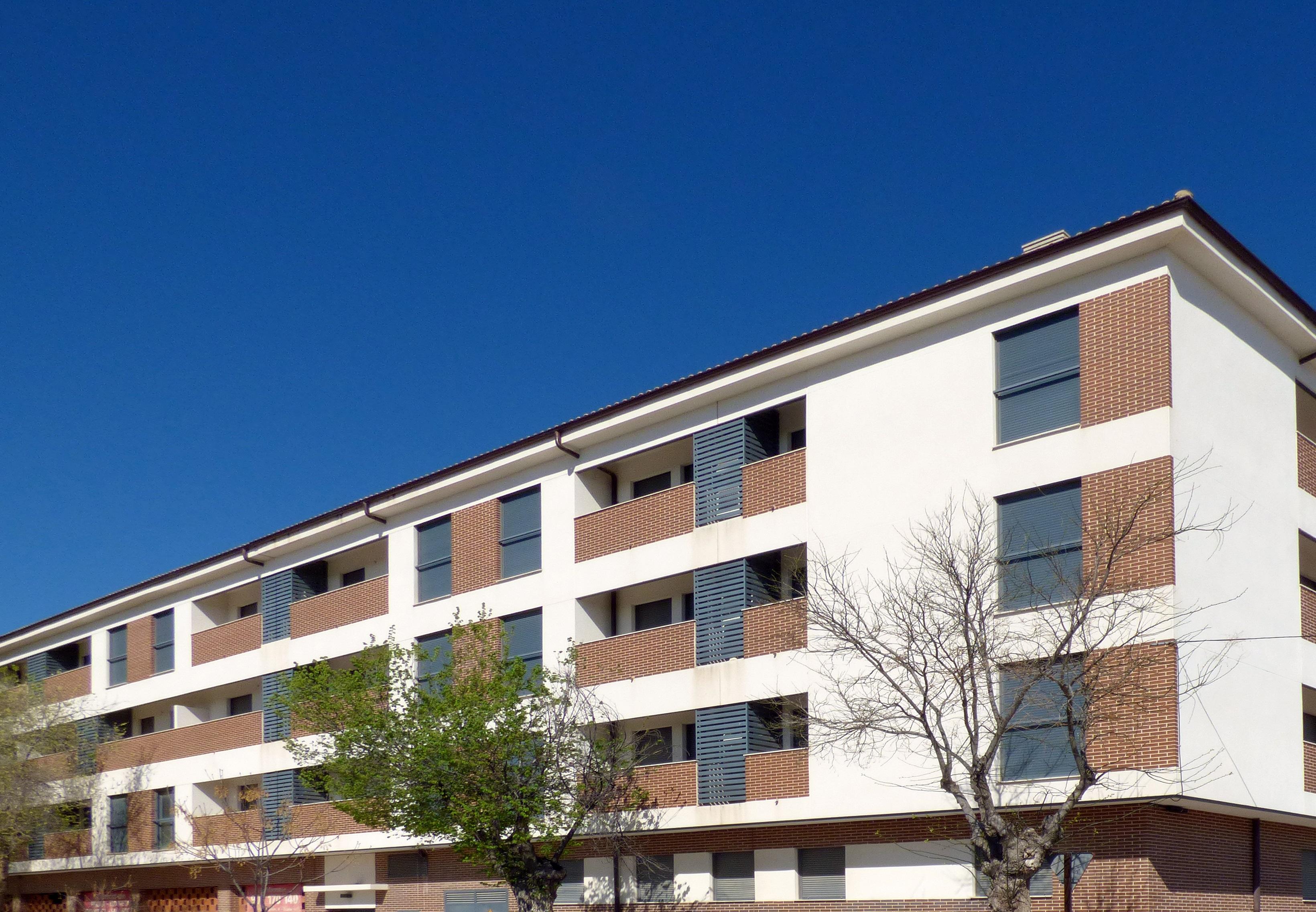 Archivo - Fachada edificio alquiler Ocaña