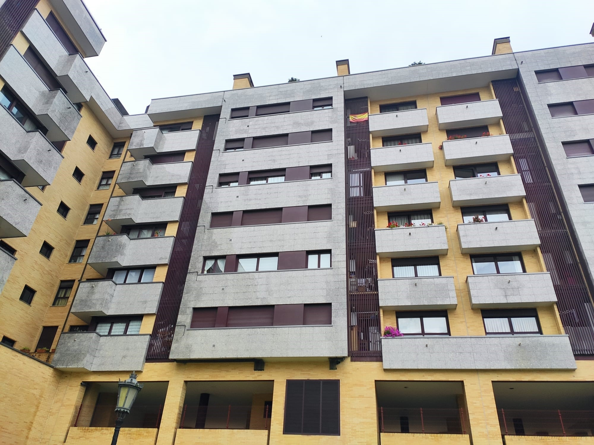 Edificio de viviendas en Oviedo / Europa Press