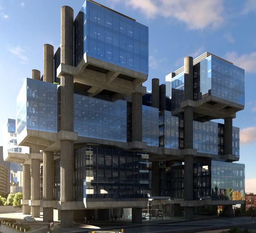 Archivo - Edificio Los Cubos (Madrid)