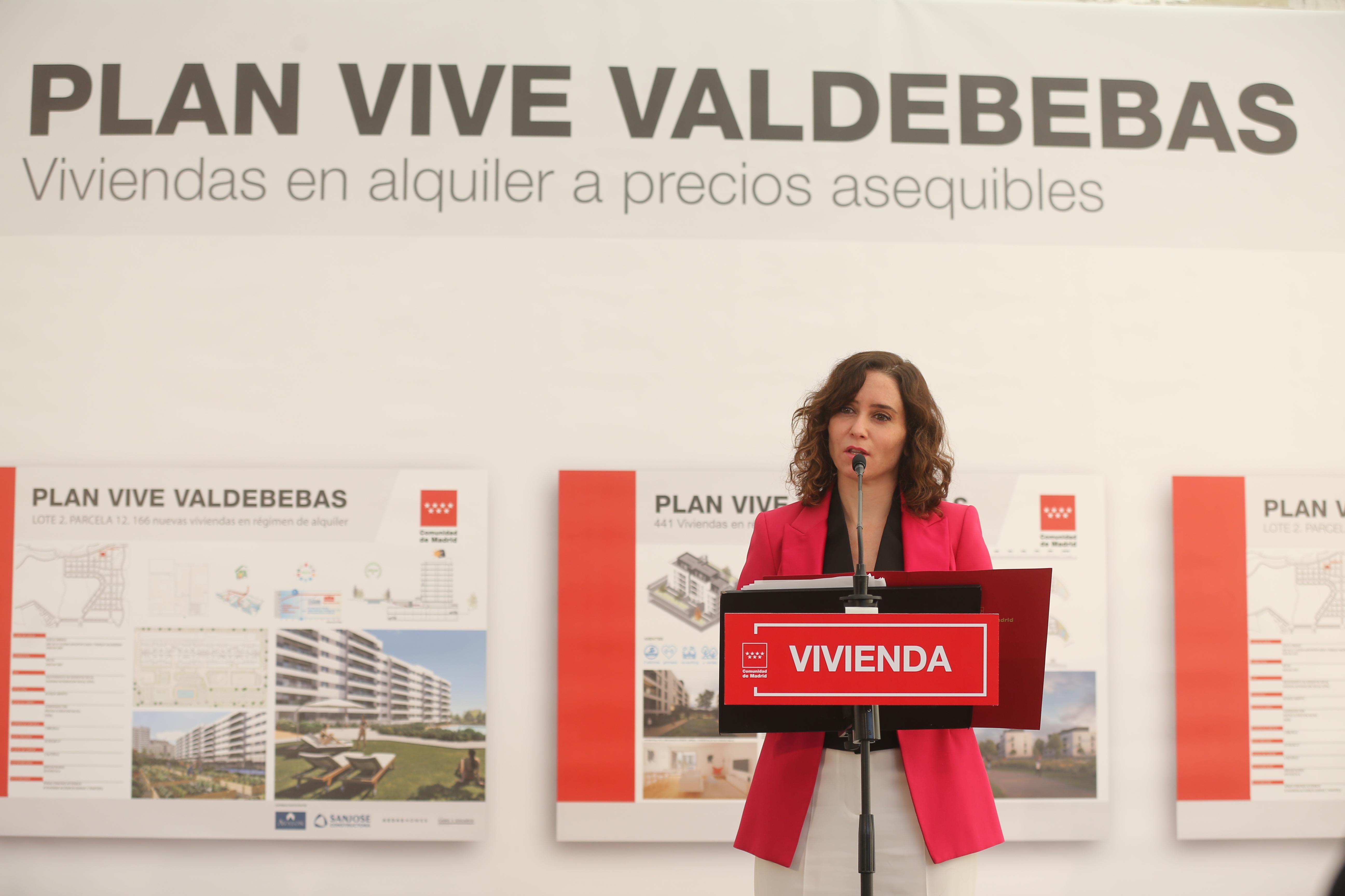 La presidenta de la Comunidad de Madrid, Isabel Díaz Ayuso / Isabel Infantes/Europa Press