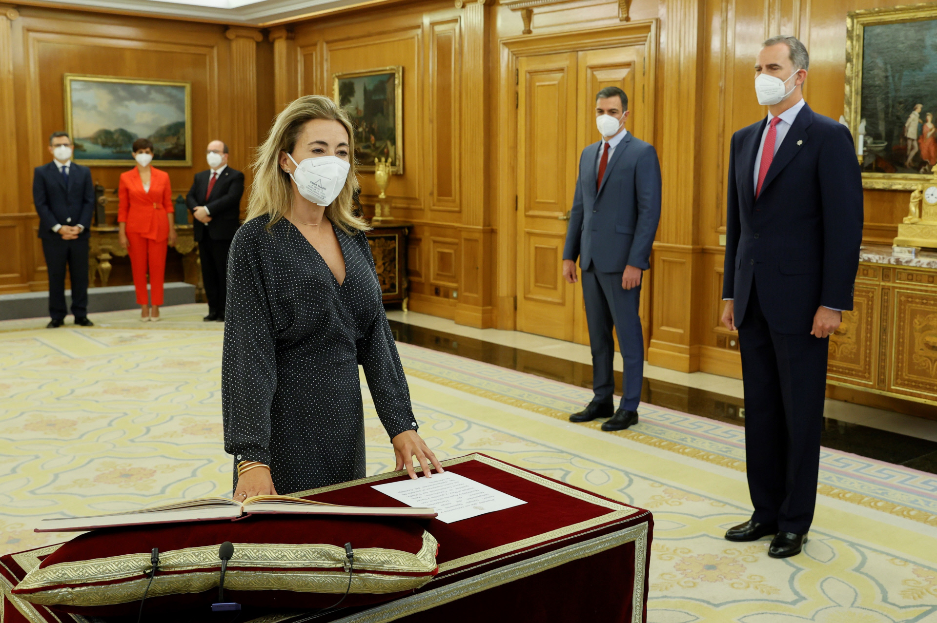Raquel Sánchez, ministra de Transportes / Gtres