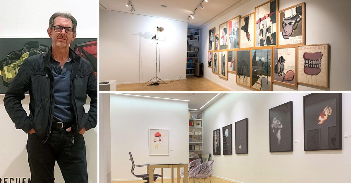 Javier Blanco, director de la galería METRO, situada en Santiago de Compostela