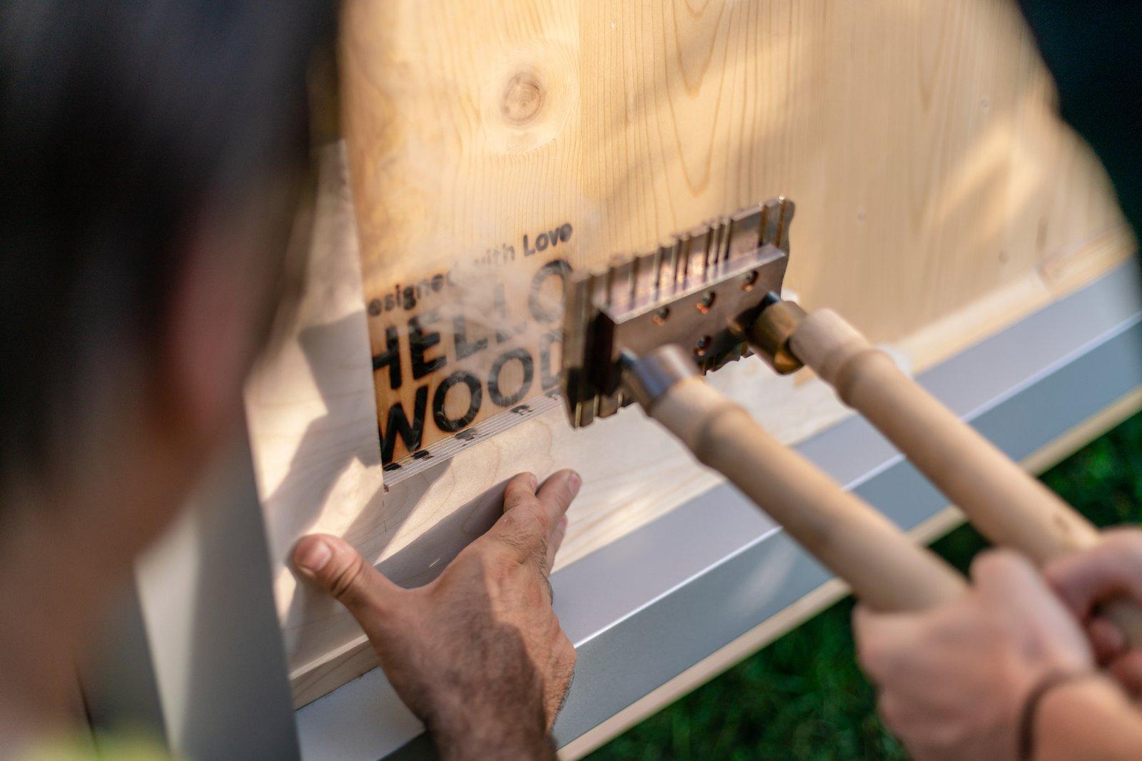 Es un proyecto del estudio húngaro Hello Wood