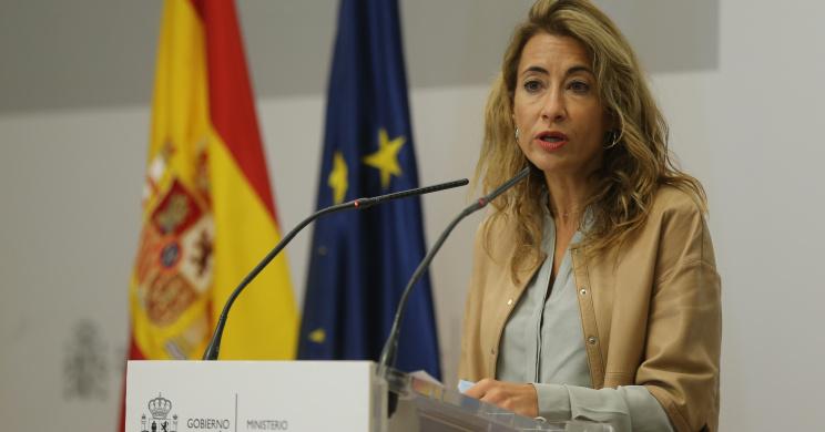 Raquel Sánchez, ministra de Transportes, Movilidad y Agenda Urbana / Europa Press