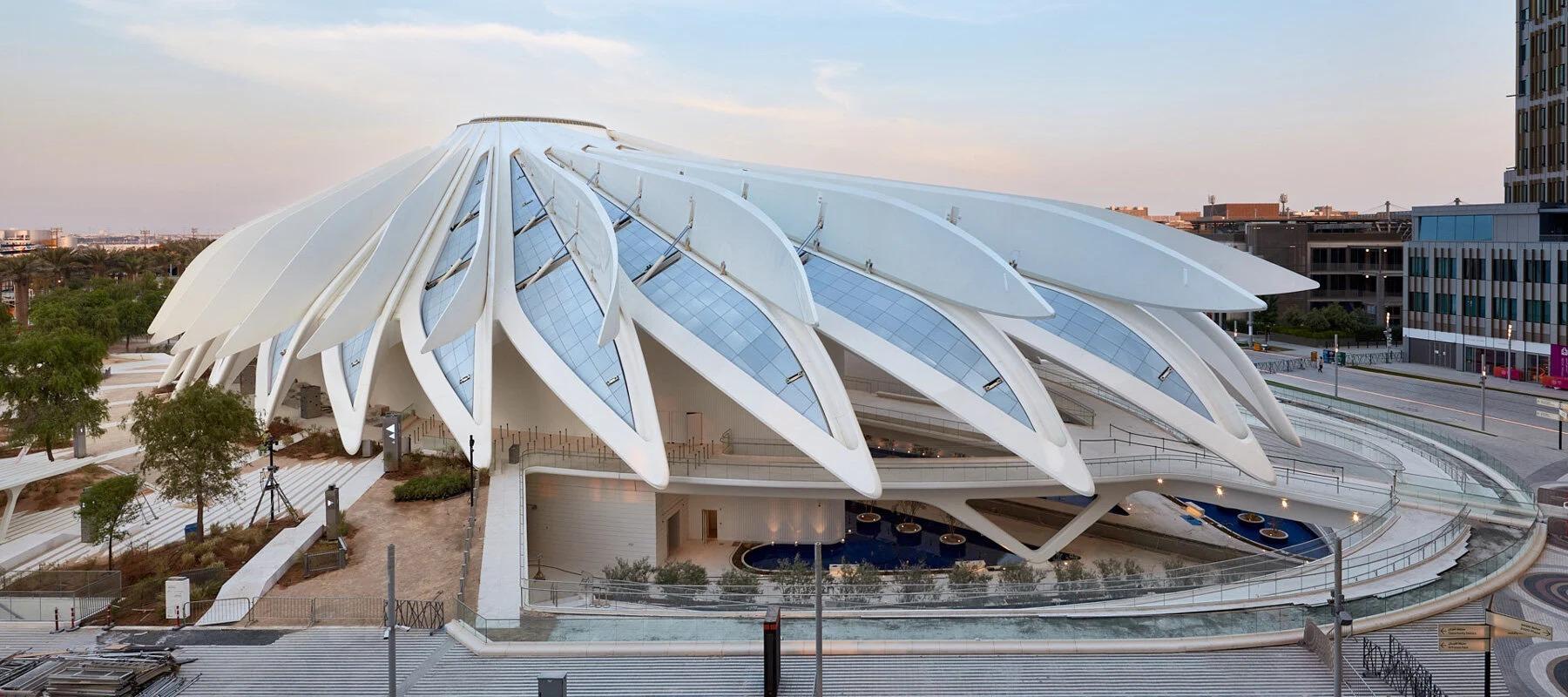 Pabellón de EAU, obra de Santiago Calatrava / palladium photodesign / oliver schuh + barbara burg