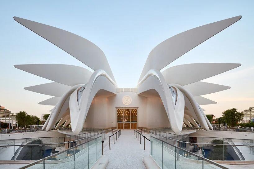 Detalle exterior del pabellón de Emiratos Árabes Unidos (EAU) / palladium photodesign / oliver schuh + barbara burg