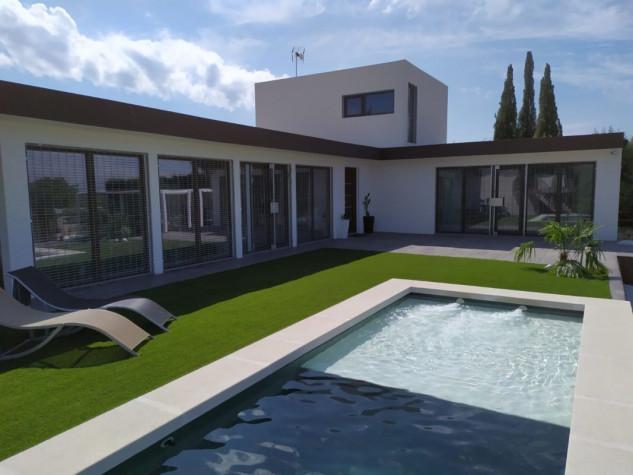 Vivienda construida en Madrid / Mojuru