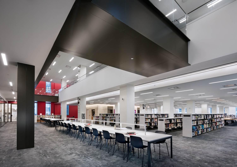 La biblioteca ha sido reformada