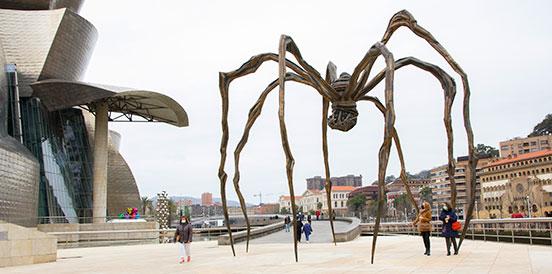 Escultura pública vasca,Bilbao