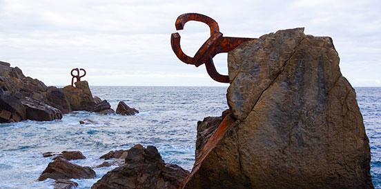 Escultura pública vasca,Donostia
