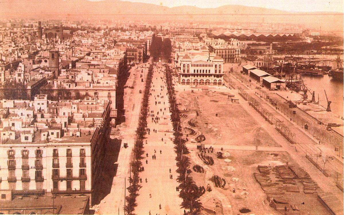 Origen de la Barcelona moderna