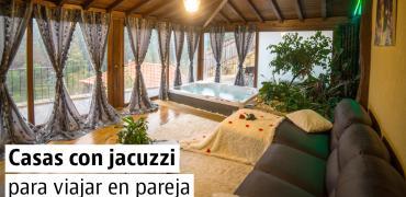 Casas con jacuzzi para el Día de San Valentín