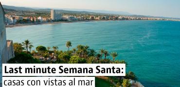 Alojamientos con vistas al mar libres para Semana Santa