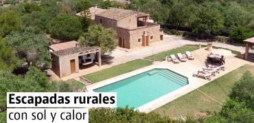 15 casas rurales para disfrutar del buen tiempo