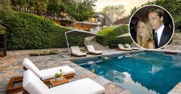 La antigua casa de Brad Pitt y Jennifer Aniston en Beverly Hills vuelve al mercado