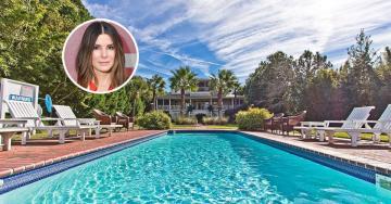 Sandra Bullock cuelga el cartel de 'Se Vende' en su casa de la playa de Georgia