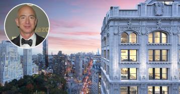 Jeff Bezos se compra en Nueva York un ático triplex y los dos pisos vecinos por 72 millones