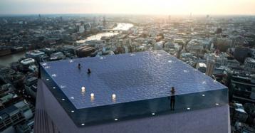 Una piscina infinita en la azotea de un rascacielos, el último proyecto loco de Londres
