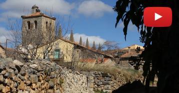 Bonilla de la Sierra, uno de los pueblos más bonitos por su iglesia pero sin escuela